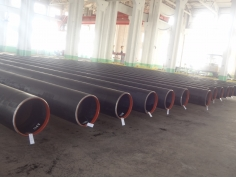 SS400 LSAW welded steel pipe