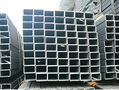 hot dipped galvanized alloy square steel pipe
