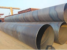 How to increase stability of spiral steel pipe