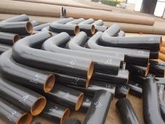 Alloy steel pipe bend
