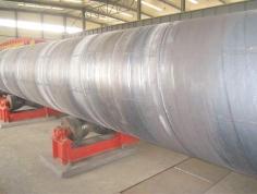 large diameter spiral welded steel pipe