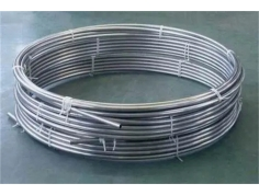 Round 304/316L Stainless Steel Pipe Coil
