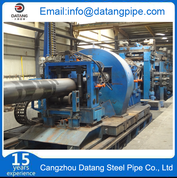 ERW steel pipe production equipment