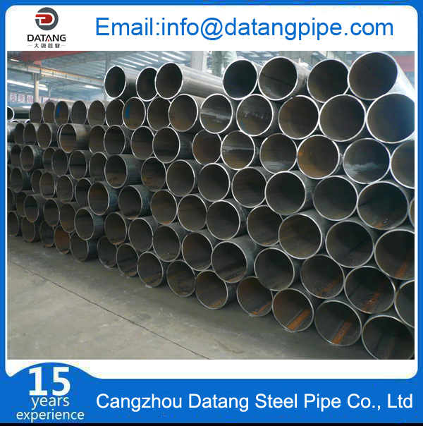 ERW steel pipe inventory