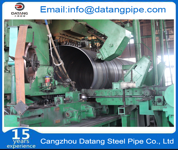 Spiral steel pipe Production equipment