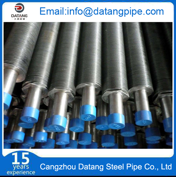 A192 Seamless Carbon Steel Aluminum Embedded Fin Tube